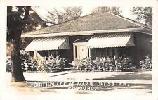 RP Postcard Birthplace of Marie Dressler in Cobourg, Ontario, Canada~108188