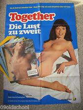 Together Die Lust zu zweit -14 Aushangfotos + Plakat A1 Marilyn Chambers Sensual