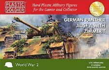 Plastic Soldier Company - WW2 German Panther A Tanks with Zimmerit (1/72)