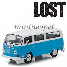 GREENLIGHT 86471 LOST TV SERIES 1971 VW VOLKSWAGEN TYPE 2 T2B DHARMA VAN 1/43 BL