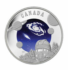 Canada $30 Sterling Silver Coin - International Year of Astronomy (2009)