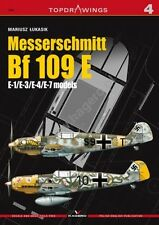 Kagero Publishing - Top Drawings 04 - Messerschmitt Bf 109 E        Book     New