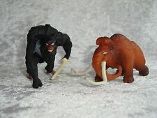 "Ice Age 4 2 coleccionables figuras personaje mamut ""manny"" +"" capitán gutt"""