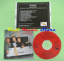 CD THE POLICE Wallaby 1991 italy STING BEECH MARTEN 004 (Xs1) no lp mc dvd