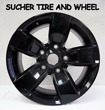 DODGE RAM 1500 OEM BLACK WHEELS RIMS 2013-2016 2448 17""