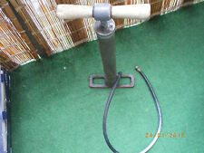 vintage air pump bicycle model a car truck unbreakable base very old