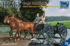 Riich Models RV35013 1/35 Hf.11 German Horse Drawn Large Field Kitchen(w/Figure)