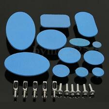 12pcs Blue Paintless Dent Repair Tabs Glue Pulling Tab for Slide Hammer Hook