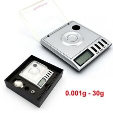 0.001g-30g High Precision Balance Digital Weighing Jewellery Gold Kitchen Scale