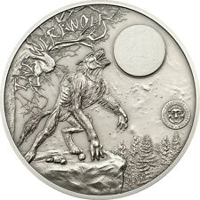 TOP RARE Palau 2013 - Mythical Creatures Collection - Werewolf incl. marble