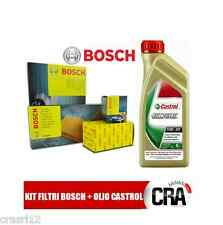 Oil replacemenet Kit CASTROL EDGE 5W30 6LT+4 FILTERS BOSCH BMW 320D E90-E91