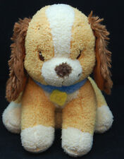 """Disney Lady and the Tramp Puppy Dog Embroidered Eyes Blue Collar Plush 12"""" Toy"""