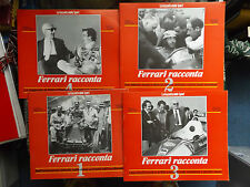 Ferari dijo que-italiano publicación Inc carteles 1 2 3 & 4-Fangio Lauda Etc