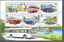 Jersey-Vintage Buses-Classic vehicles mnh special sheet-