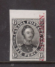 Canada #2TCix XF Plate Proof On India Paper From Top Margin