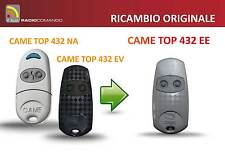 Radiocomando originale CAME TOP 432 NA/EV new model CAME ORIGINALE TOP 432 EE