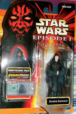 1998 Hasbro Star Wars Episode I Darth Sidious .00 w-Comtech Chip Collection 2