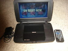 """RCA 9"""" LCD Portable DVD Player with charger and remote"""