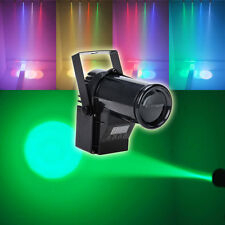 Colorful RGBW 15W Pinspot Light LED Stage Lighting DMX512 XMAS DJ PARTY CLUB