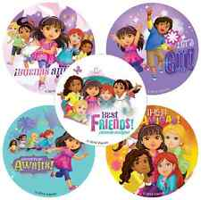 "30 Dora and Friends Stickers, 2.5"" x 2.5"" each, Party Favors"