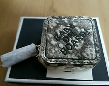 "ANYA HINDMARCH ""BABY ON BOARD""  IN NATURAL SNAKE COIN PURSE - BNIB"
