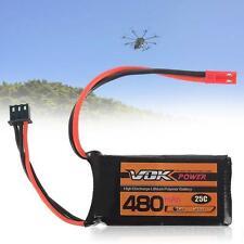 VOK 2S Batterie Lipo 7.4V 25C 480mAh Batterie pour RC Racing avion Propriété