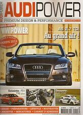 AUDI POWER 1 AUDIPOWER1 AUDI RS4 B5 700CH A5 CABRIOLET RS3 SPORTBACK 2.5 TFSI