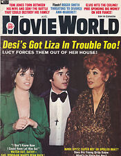 AUG 1973 MOVIE WORLD vintage movie  magazine - LUCILLE BALL - LIZA MINELLI