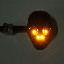 MOTORCYCLE,AMBER,METAL,SKULL,INDICATORS,STREETFIGHTER,CHOP,CUSTOM,TRIKE,PROJECT,