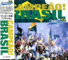 Campeao! Brasil - WORLD SOCCER SONG SERIES - Japan CD NEW