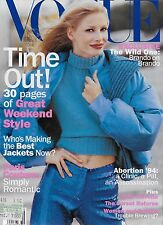 US / AMERICAN VOGUE OCTOBER 1994 KIRSTY HUME COVER