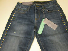JENNIFER LOPEZ STRETCH BOYFRIEND JEANS MS SZ 0 SHORT -DISTRESSED-NWT