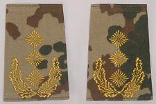 Dienstgradabzeichen Rangschlaufen, gestickt Generalleutnant in Wüste ......D7047