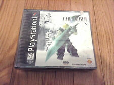 Final Fantasy 7 VII (Sony PlayStation 1, 1997) NEW SEALED PS1 RARE FF7 MISPRINT!