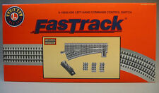 LIONEL FASTRACK 060 COMMAND CONTROL LH SWITCH o gauge train track 6-16828 NEW