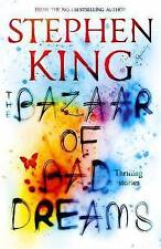 THE BAZAAR OF BAD DREAMS by Stephen King. BRAND NEW, Large Book, PAPERBACK.