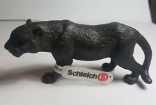 RARE Retired Schleich Black Panther Schleich 14126 PVC Figure Figurine
