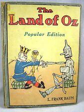 Early Wizard Of Oz Book - THE LAND OF OZ - Reilly & Lee - L. Frank Baum