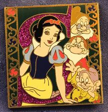 Disney Snow White and the Seven Dwarfs Princess Initial Storybook Dopey Pin