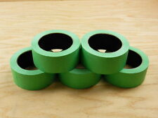 "5 CONSTRUCTION GRADE 2"" Green Trim Edge Painters Tape Masking 180' 60 yd roll"