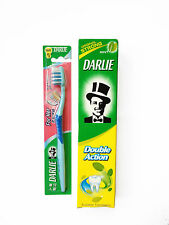 DARLIE DOUBLE ACTION TOOTHPASTE 250g AND SOFT TOOTHBRUSH