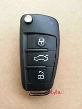 3 Button Remote Replacement Key Fob Case & Blade for AUDI A3 A4 A6 Q7 TT