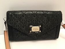 GUESS XBody Messenger Bag *Juliet Mini* Black Shoulder Purse New $68