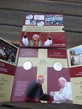 Papst Benedikt XVI in Deutschland: 2 mal 999`er Silber Medaille Benedikt und Pau