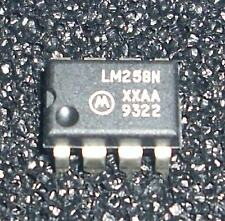 1 x LM258N Operationsverstärker operational amplifier OPV  neu new