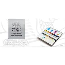 Winsor & Newton Artists Acuarela Calidad Profesional 12 Caja de Metal PAN entero