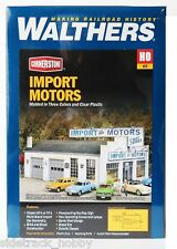 HO Scale Walthers Cornerstone 933-4023 Import Motors Building Kit