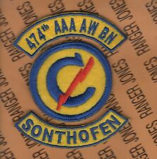 474th AAA WB-SP Constabulary Anti Aircraft Artillery Sonthofen Germany patch tab