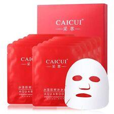 10PCS Korean Plant Essence Facial Mask Sheet Moisture Face Mask Pack Skin Care
