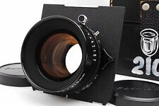 **MINT** FUJIFILM CM FUJINON W 210mm f/5.6 Lens COPAL Shutter w/Case From Japan